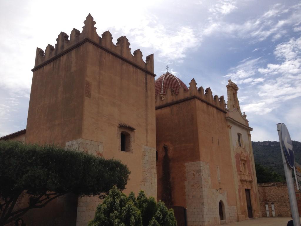 The gate of Convento Santa Maria de Valldigna