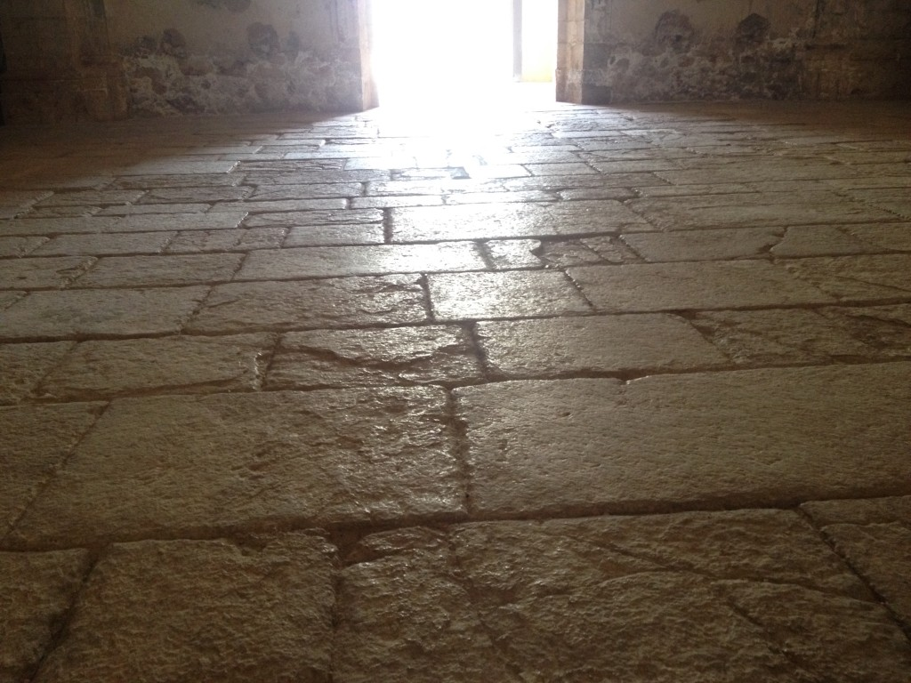 The floor of Iglasia Santa Maria de Valldigna