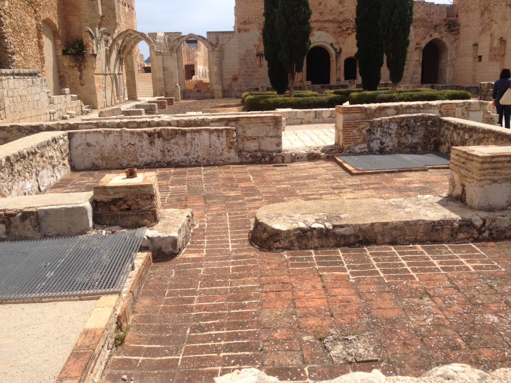 Historic ruins at Convento de Santa Maria de Valldigna