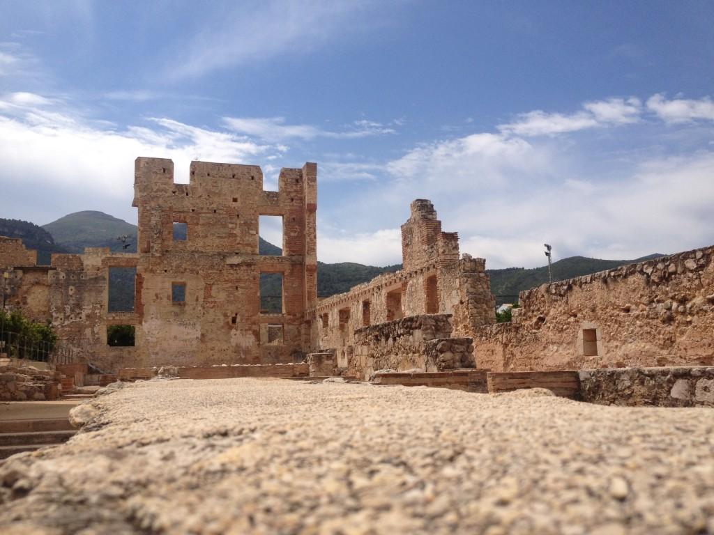 Inside the Convento Santa Maria de Valldigna
