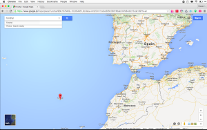 Funchal on the map