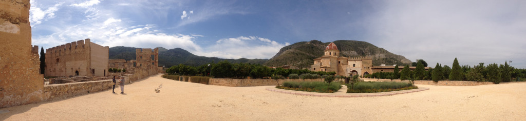 Inside the Monastery of Valldigna