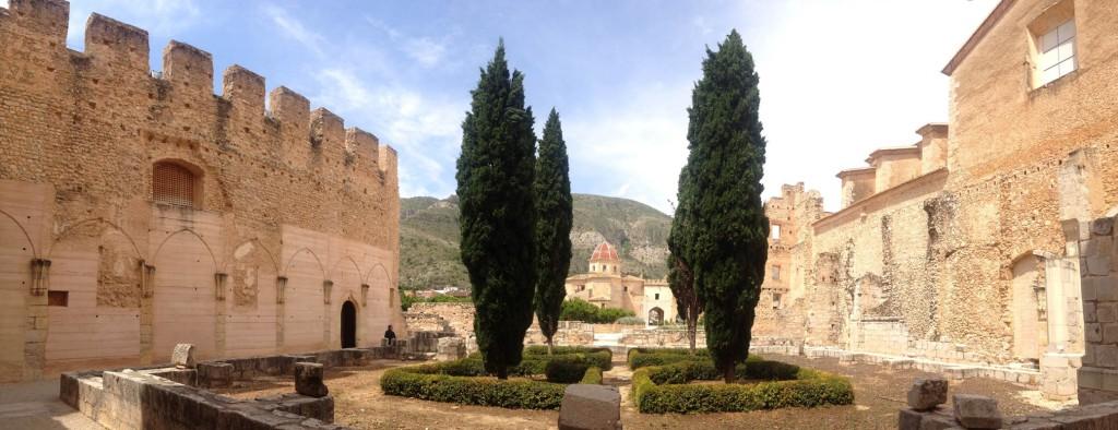 A Courtyard inside the Convento de Valldigna.
