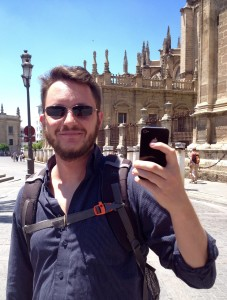 Matthew at the Cathedral of Seville